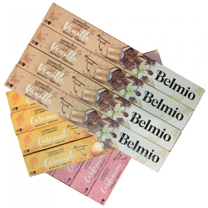 Набор кофе в капсулах Belmio Flavoured Collection, 120 шт.