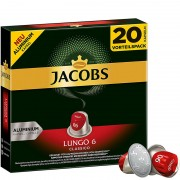 Jacobs Lungo 6 Classico (20 капсул)